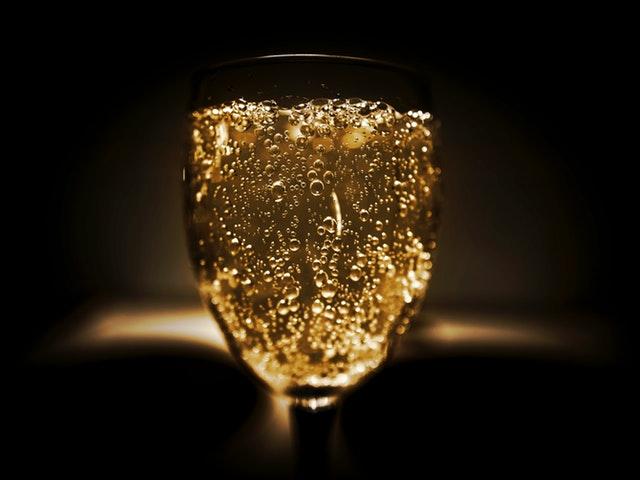 Ett glas bubbel